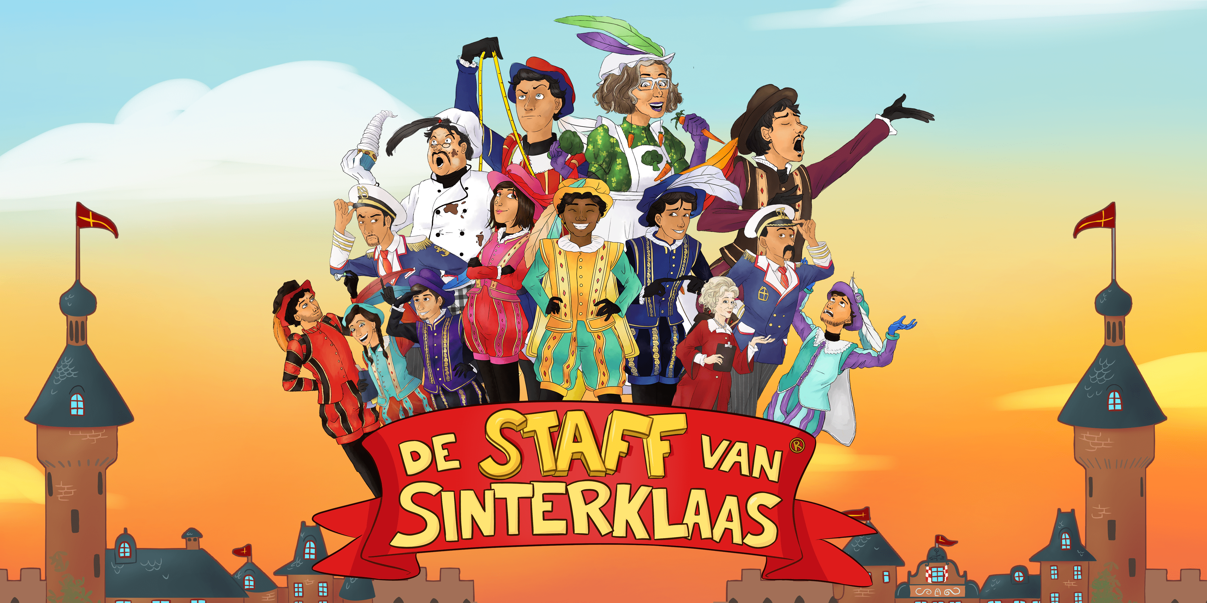 De Staff van Sinterklaas cartoons